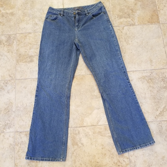 Liz Claiborne Denim - Liz Claiborne Good Condition Boot Cut Blue Jeans